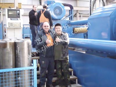 500吨大型摩擦焊機获澳大利亚客户点赞)