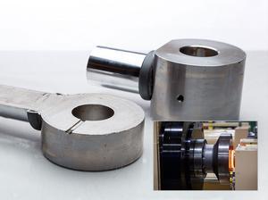 油缸液壓杆焊接剖面圖.