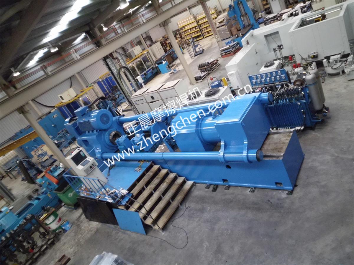 500噸大型摩擦焊機澳大利亞用戶現場安裝調試