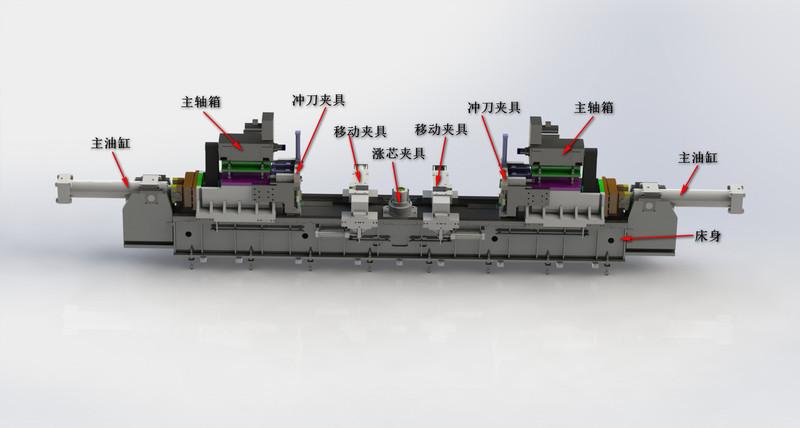 摩擦焊機結構圖