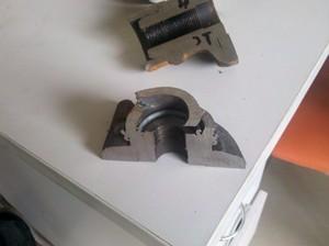 焊接件焊口切開剖面